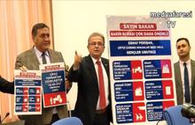 CHP'li vekillerden Berat Albayrak'a şok protesto