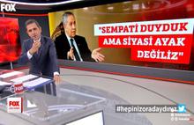 Fatih Portakal'dan Bülent Arınç'a: Hepiniz oradaydınız