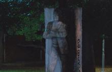 Beşiktaş'ta 4 maganda ısınmak için Şair Melih Cevdet Anday'ın heykelini yaktılar