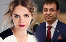 Tuğçe Kazaz'dan  Ekrem İmamoğlu'na hakaret!