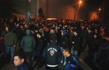 Trabzonspor'da taraftarlar Ünal Karaman için tesislere akın etti!