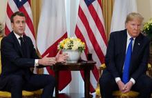 Trump ve Macron'dan flaş açıklamalar