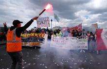 Fransa'da genel grev bugün başladı: Hayat durdu