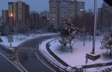 İstanbul kar manzarasına uyandı