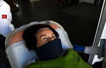Fatma Girik hastaneye kaldırıldı