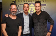Acun Ilıcalı ve Cem Yılmaz'dan Fenerbahçe kampanyası