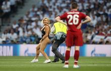 Şampiyonlar Ligi finalini karıştıran kadın