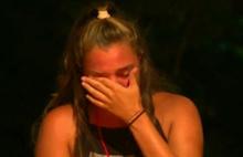 Finale günler kala gözyaşlarıyla veda etti