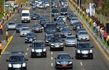 Erdoğan ilk kez trafiği kestirmedi
