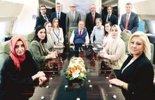 Erdoğan'dan dönüş yolunda önemli açıklamalar