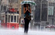 İstanbul yağmura teslim oldu