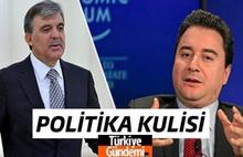 Turkiyegundemi.com Politika Kulisi: Yeni oluşumun merkezi kim? Gül mü, Babacan mı?