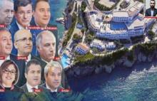 Fetö'cü işadamının otelinin AKP'li misafirleri...