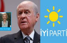 İyi Parti'yi MHP'nin benzeri olarak tutmak istiyor