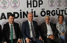 Muharrem İnce'den Ahmet Türk'e destek ziyareti