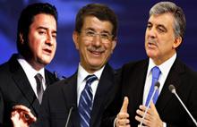 Ali Babacan'dan Gül ve Davutoğlu açıklaması