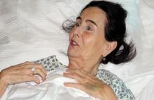 Fatma Girik Ankara'da hastaneye kaldırıldı