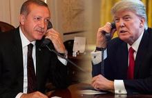 Erdoğan, Trump ile Libya'yı görüştü