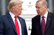 Trump'tan  Erdoğan'a uyarı!
