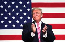 Trump'tan Bağdat'taki saldırı sonrası bayraklı paylaşım