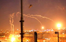 ABD askerinin bulunduğu üsse roket düştü!