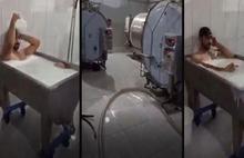 Süt banyosu rezaletinde yeni gelişme: Çamaşırlarım üzerimdeydi