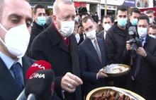 Cumhurbaşkanı: Bunu yiyene Covid bulaşmaz!