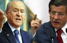 Davutoğlu, PKK göndermesi yapan Bahçeli'ye Öcalan üzerinden yanıt verdi