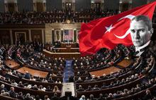 ABD Kongresi'nde Atatürk ilkelerine ve TBMM'ye büyük destek