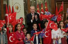 Cumhurbaşkanı  Erdoğan'a İstiklal Marşı tepkisi