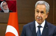 Bülent Arınç'tan Sevda Noyan'a tepki:Milleti başörtüsünden nefret ettirecekler