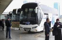 Şehirlerarası  otobüsler seferlere başlıyor