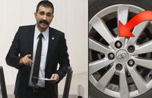 Milletvekili Atay'dan şok iddia: Aracımın bijonları gevşetilmiş