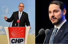 CHP'li Öztrak ve Berat Albayrak ne konuştu?