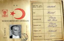 Atatürk'ün nüfus cüzdanındaki ismi ne?