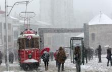 İstanbul'a kar geliyor...