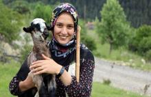 Köy yaşantısını paylaşan Nurgül'ün takipçi sayısı 100 bine yaklaştı
