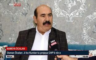Teröristbaşı Öcalan'ın kardeşi  TRT'ye çıktı