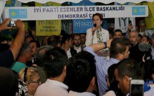 Meral Akşener'den Yıldırım'a: Ayıp be ayıp !