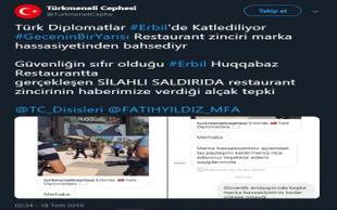 Diplomatın şehit olduğu lokantanın marka hassasiyeti kızdırdı