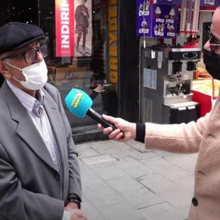75 yaşındaki vatandaşın konuşması gündem oldu