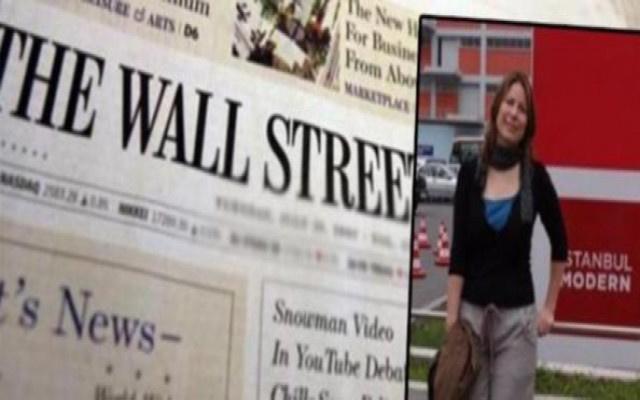 Wall Street Journal muhabirine hapis cezası