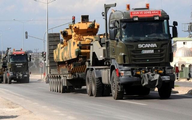 Sınırda askeri hareketlilik arttı