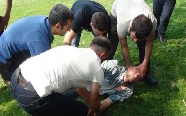 Taksim Gezi parkında şok görüntü