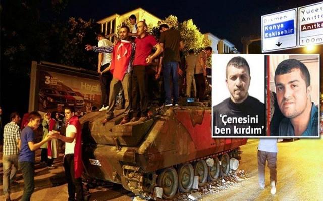 5 tankı durduran kahraman çakma çıktı
