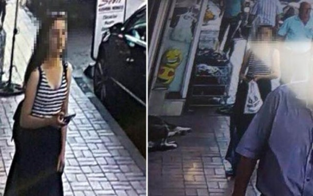Çocuğu tuhafiyeciye bırakıp kaçtı