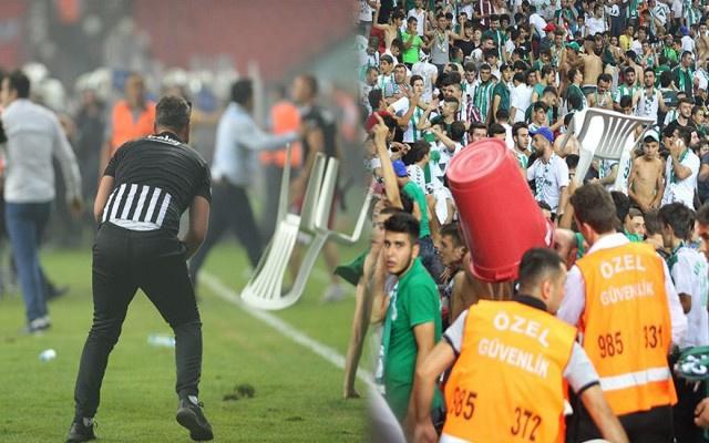Beşiktaş ile Konyaspor'un cezaları belli oldu