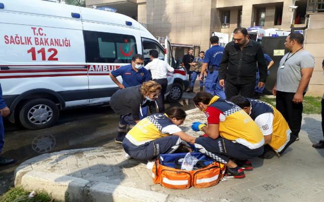 İzmir Adliyesinde alarm