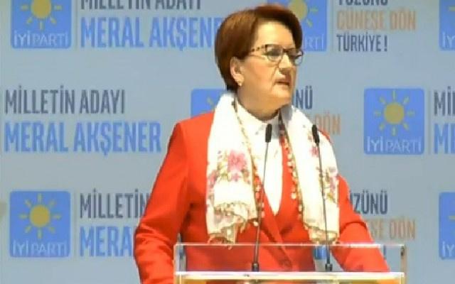İYİ Parti'nin seçim bildirgesi açıklandı