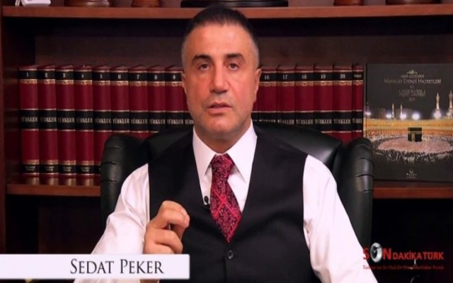 Sedat Peker'den  anlamlı af mesajı